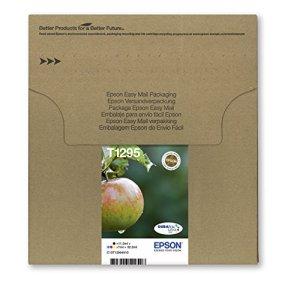 Epson T1295 Tintenpatronen, Apfel, Multipack 4-farbig (Frustfreie Verpackung)