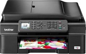 Brother MFC-J470DW Farbtintenstrahl-Multifunktionsgerät (Scanner, Kopierer, Drucker, Fax, Duplex, WLAN, USB 2.0) schwarz