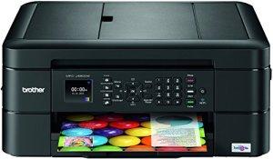 Brother MFC-J480DW Multifunktionsdrucker Tintenstrahl mit Scan/Fax/Copy-Funktion