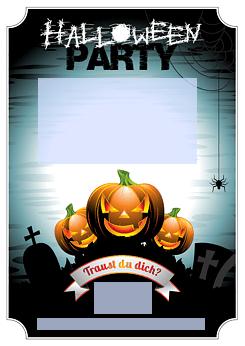 Drucke Selbst Einladung Zur Halloweenparty Zum Ausdrucken