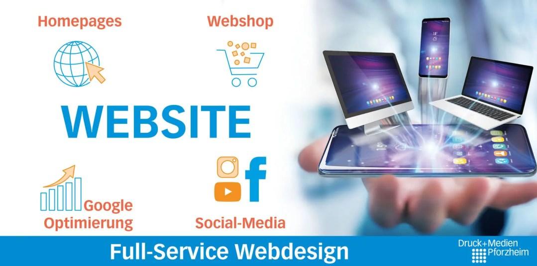 Schaubild Website