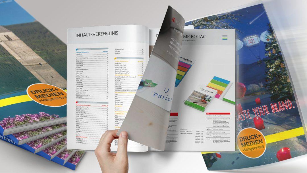 Broschüren und Kataloge Von Druck+Medien Heiligenhaus
