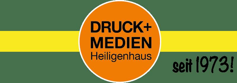 Druckerei Druck+Medien Heiligenhaus GmbH Seit 1973