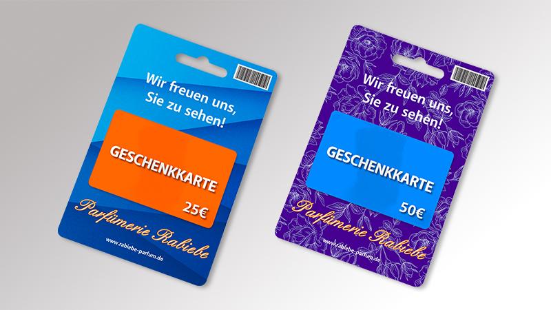 Gutscheinkarten von Druck+Medien Heiligenhaus