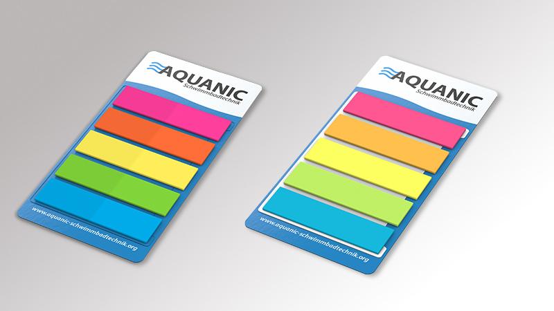 Marker Set Micro Tac Haftnotizen von Druck+Medien Heiligenhaus V1
