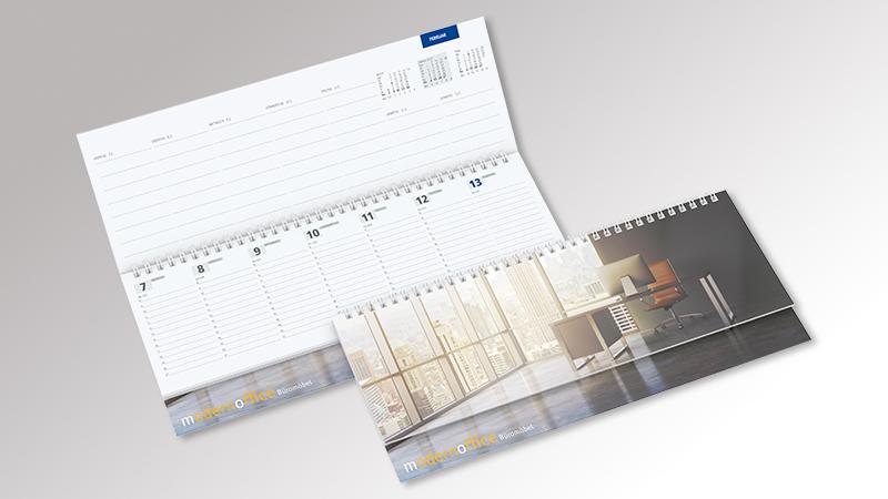 Master Tischquerkalender von Druck+Medien Heiligenhaus