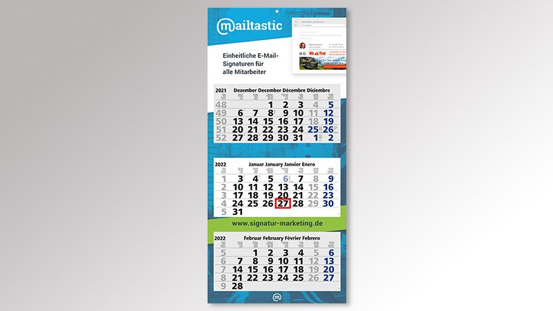 MaxiLight3 Monatskalender von Druck+Medien Heiligenhaus