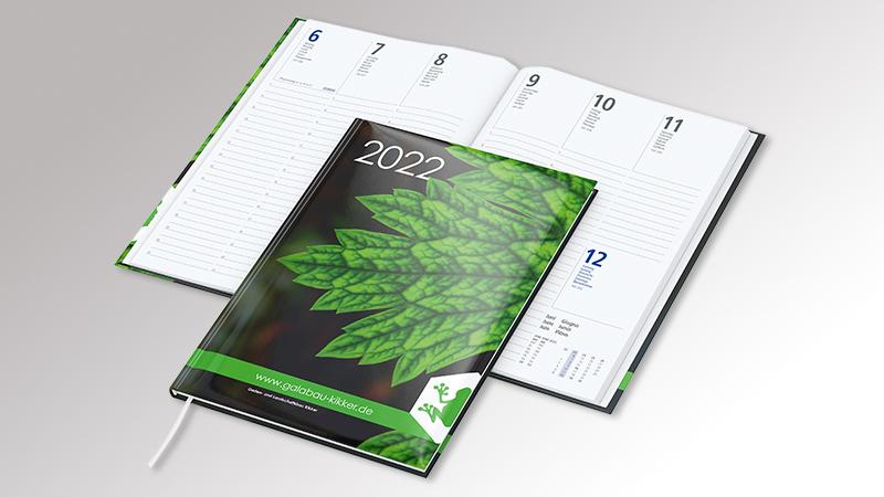 MediaCoverStar Buchkalender von Druck+Medien Heiligenhaus