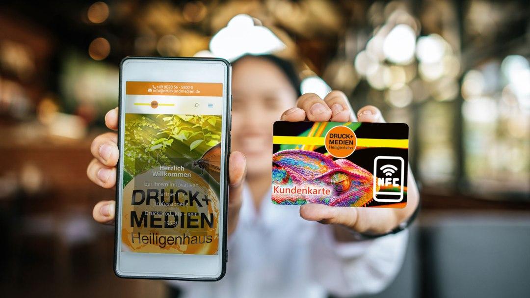 NFC Karten Von Druck+Medien Heiligenhaus