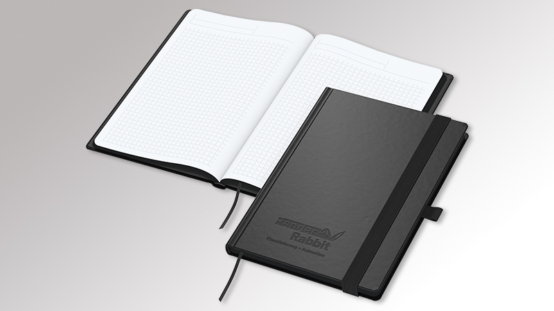 Notizbuch BlackBook von Druck+Medien Heiligenhaus