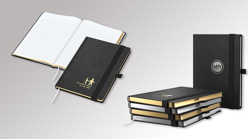 Notizbuch GoldSilverBook von Druck+Medien Heiligenhaus