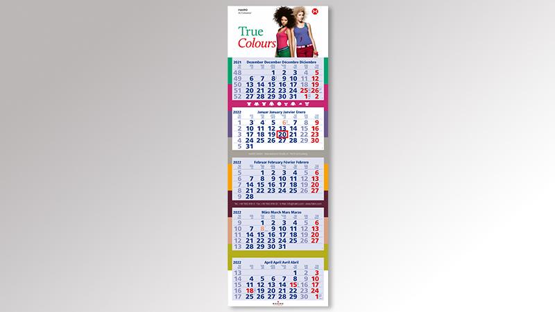 PentaLight5 Monatskalender von Druck+Medien Heiligenhaus