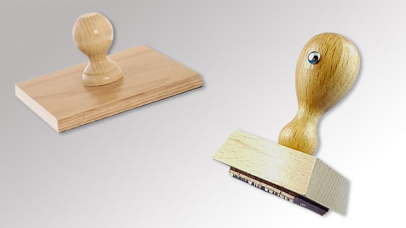 Holzstempel von Druck+Medien Heiligenhaus