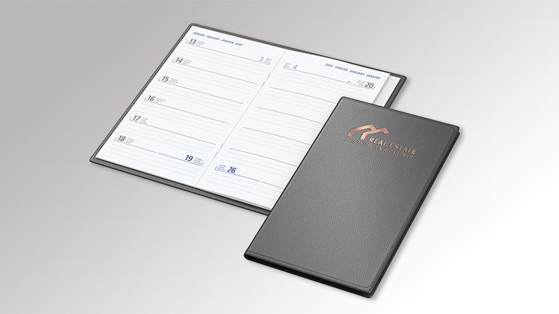 Taschenkalender Septimus von Druck+Medien Heiligenhaus