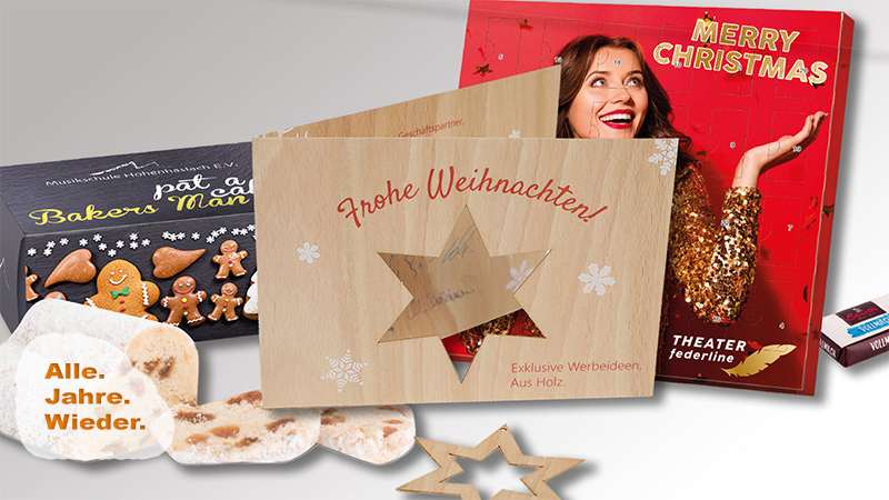 Weihnachtsdrucke von der Druck+Medien Heiligenhaus GmbH