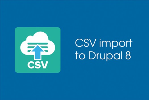 import data from a CSV file to Drupal 8