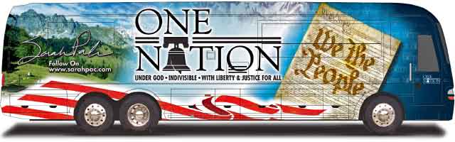 Image result for sarah palin bus copyright