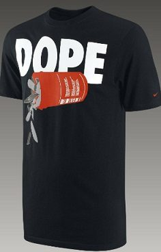 Nike Refuses to Remove Dope and Get High TShirts From