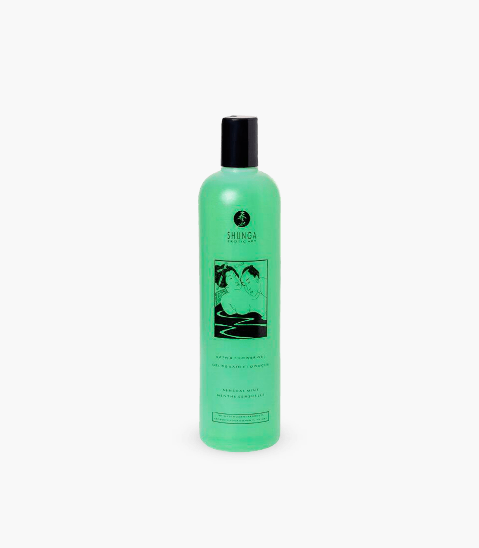 Shunga Bath & Shower Gel Sensual Mint