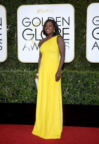 Viola Davis in Michael Kors Collection /Vogue