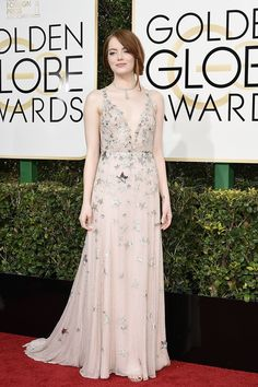 Emma Stone in Valentino /Vogue