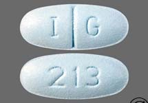 Blue Pill 213 On One Side And I G - MedsChat