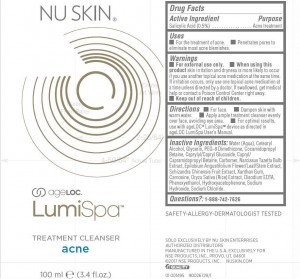 AgeLOC LumiSpa Treatment Cleanser Acne (NSE Products, Inc