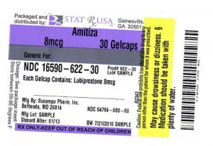AMITIZA (STAT RX USA LLC): FDA Package Insert Page 3