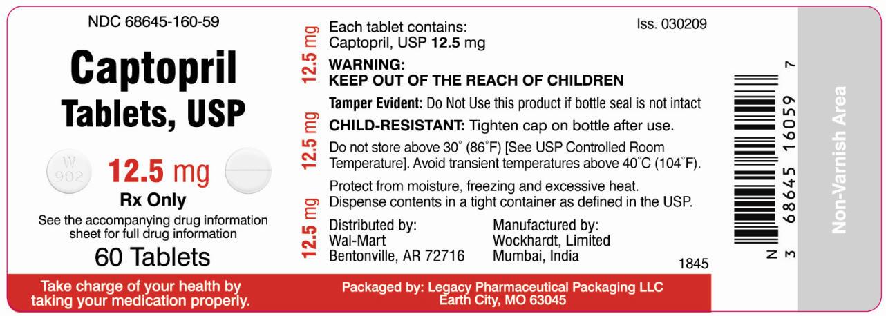 Captopril (Legacy Pharmaceutical Packaging): FDA Package ...