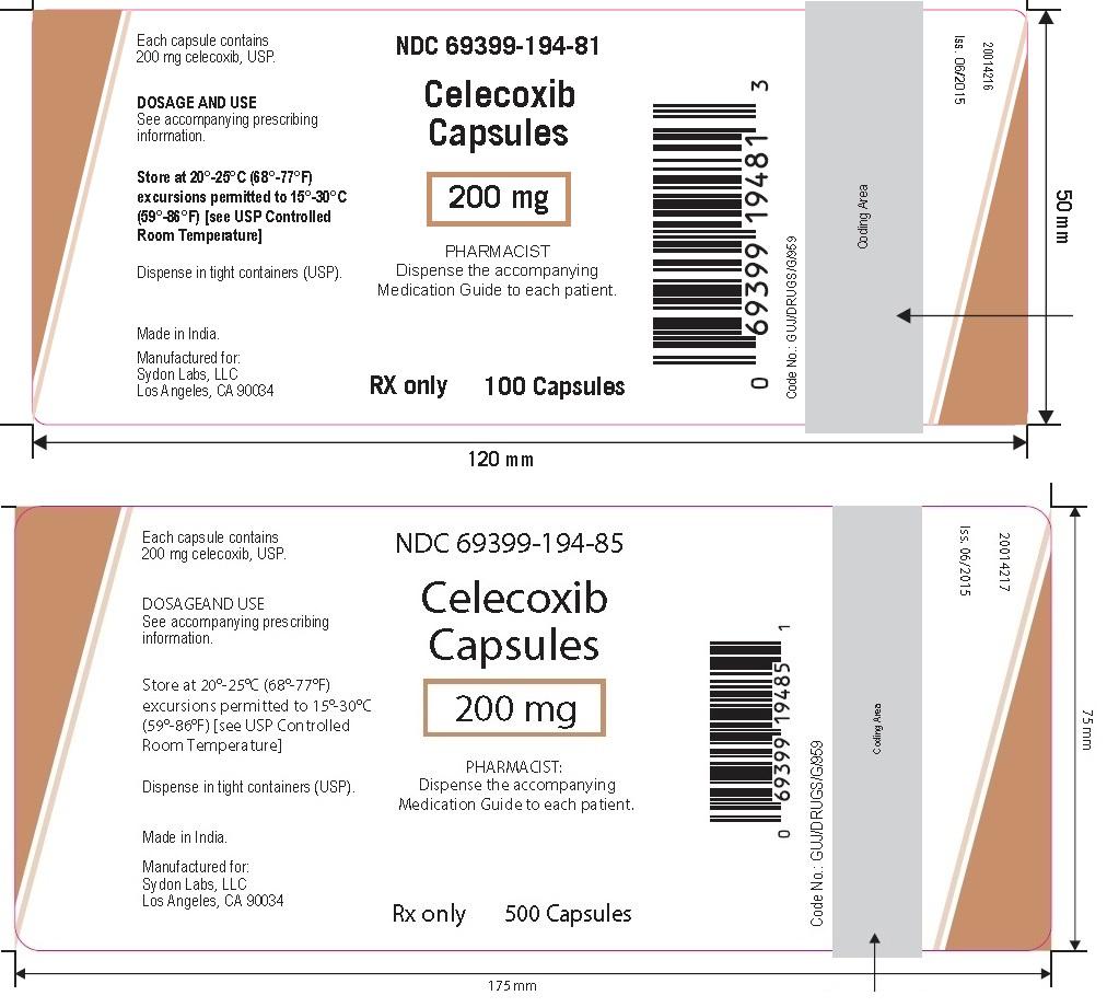 Celecoxib 200 Mg (SYDON LABS LLC): FDA Package Insert Page 5