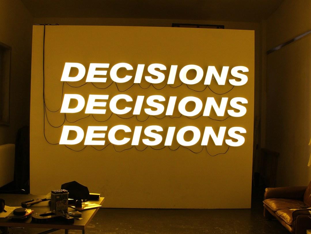 !Mediengruppe Bitnik - Decisions Decisions Decisions