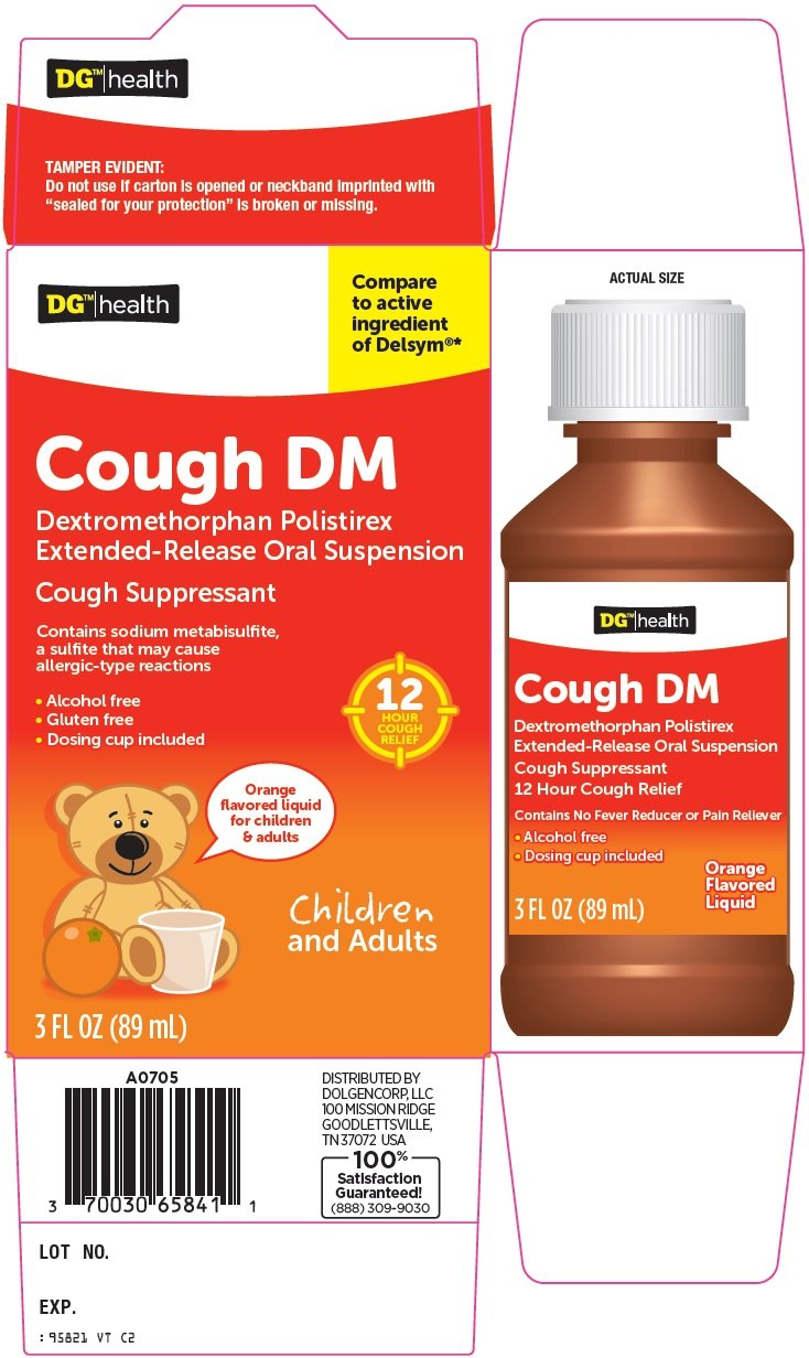 DG Health Cough DM (Dolgencorp LLC) DEXTROMETHORPHAN ...