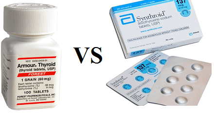 Armour Thyroid vs Synthroid – Drug Details