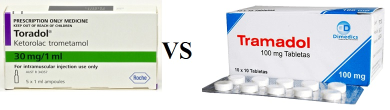 Toradol Vs Tramadol  Drugs Details