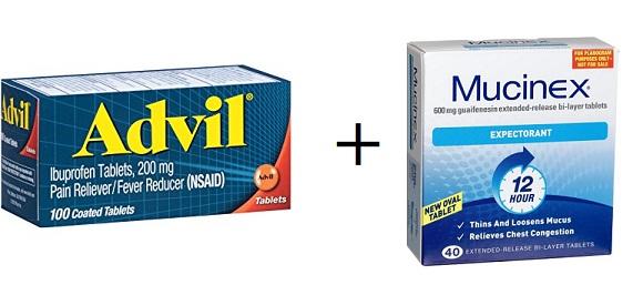 Can I take Advil and Mucinex together? – Drug Details