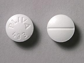 PLIVA 433 pill – Drug class dosage size shape uses ...