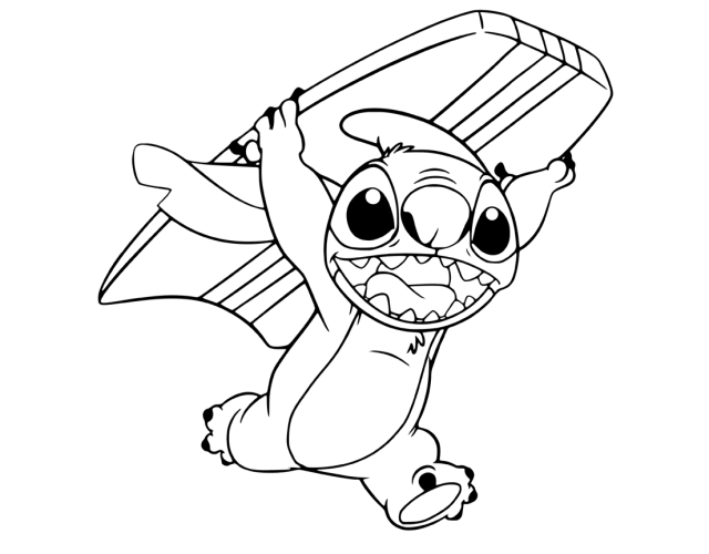 30+ beautiful pictures Angel Stitch Coloring Pages / Stitch and
