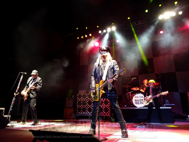 Cheap Trick's Daxx Nielsen Bringing Tempo Back 3