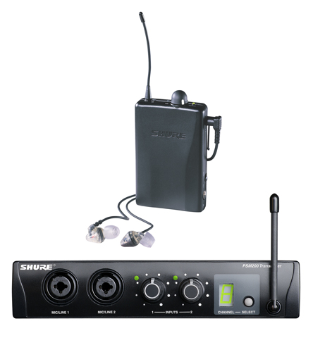 Shure PSM 200 In-Ear Monitors Reviewed 2