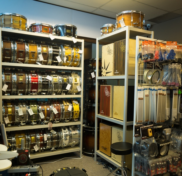 The Snare Drum Room.