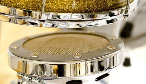 Dags för en workshop om att micka trummor