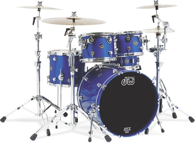 dw performance series drum kit reviewed drum magazine. Black Bedroom Furniture Sets. Home Design Ideas