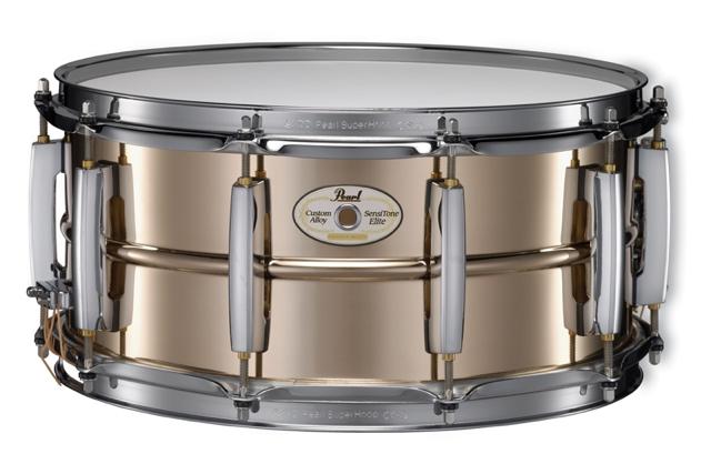 pearl sensitone elite snare drums reviewed drum magazine. Black Bedroom Furniture Sets. Home Design Ideas