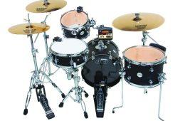 hybrid drum set