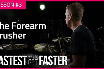 The Fastest Way to Get Faster Drum Lesson DAY 3 CRUSHER featured image
