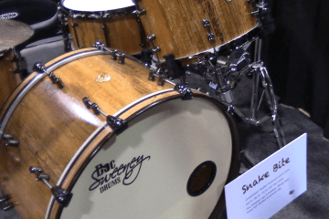 Doc Sweeney Drums At Winter NAMM 2018