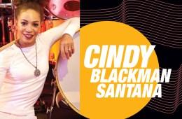 Cindy Blackman Santana. Photo by Francis George
