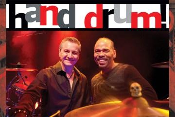 Percussionists Karl Perazzo and Paoli Mejias of Santana