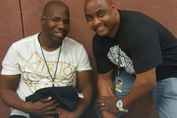 John Blackwell and Derrick McDowell