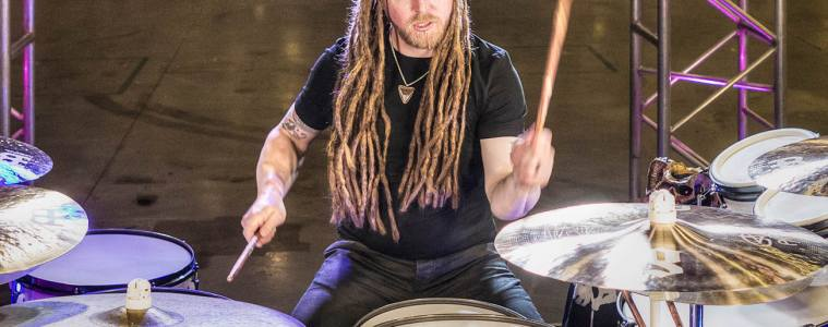 Shinedown drummer Barry Kerch